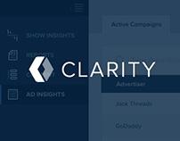 Clarity - Insights Dashboard