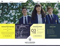 St Gregory's Catholic Girls High Website Build
