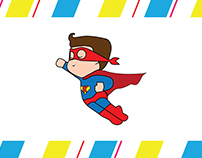 Super Baby Logo Design