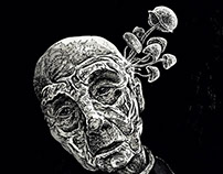 Portret halucynogenny