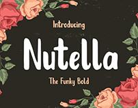 FREE Nutella Typeface