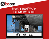 Sportsbuds Launch Page
