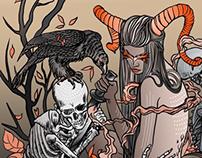 La chimère et la mort