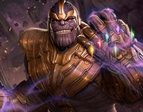 Thanos and Lady Death
