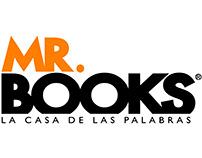 MR.BOOKS. Piezas gráficas. Publicidad.