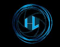 Hans Leenders logo - cameraman