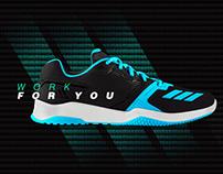 Adidas web and visual design