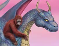 Dragon and Orangutan