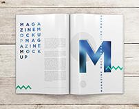 A4 Magazine / Booklet MockUp vol.1