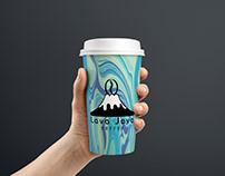 Lava Java Coffee Cup Mockup