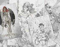 Marvel Comic Themed Joystick