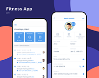 Fitness IOS app | Client Relationship Manager