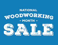 Rockler National Woodworking Month Sale 2015