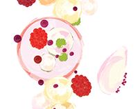 Food Plating | Illustration