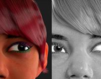 Portrait Sophya 3D