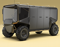 2018 : Voinic V2 Lightweight modular ATV