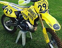 Loomies Moto Sport / Keir Tett Team Branding and Livery