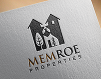 Memroe Properties Logo design