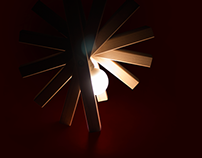 ANGULAR Woodlamp