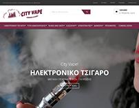 Κατασκευή eshop cityvape.gr