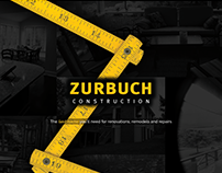 WordPress Website—Zurbuch Construction (in progress)