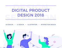 UI UX interaction design selection - 2018