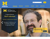 UMSI website redesign