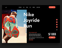 Nike - Sneakers Product Page UX/UI