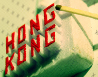 Hong Kong - Typography experiment