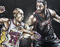 Kobe Bryant vs LeBron James (NBA) 7.24.12