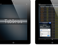 Tableau (iPad ATM Concept App), design/development