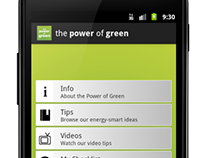 """The Power of Green"" Android app"