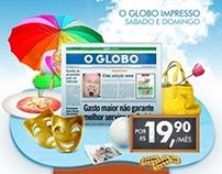 Campanha -  O globo