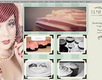 Temptations Cupcakes Website Design