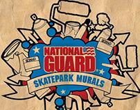 NG SKatepark Mural Branding