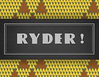 Ryder Typeface