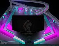 DJ Cabbin 3d Mapping