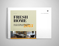 Interior Design Brochure / Catalog