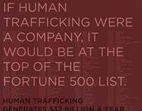 Human Trafficking Awareness Poster