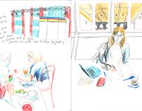 Sketchbook selections