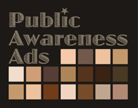 Public Interest Ads for various subject
