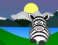 Zebra Song music video