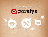 Agoralys | Identité visuelle et webdesign