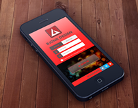 Bjonk Login App UI