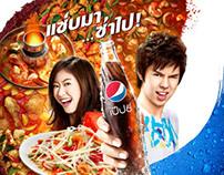 PEPSI Food Campaign