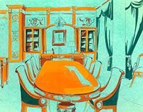 Sketches classic interiors