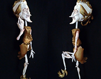 Leander puppet ~ Haydn - The burning house
