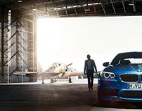 BMW M5 online campaign