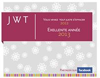 Carte de voeux 2013 JWT Tunis