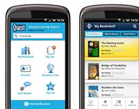 DestinyQuest - Library Search & Bookshelf App